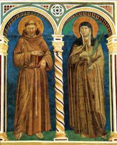 Saints Francis and Clare of Assisi