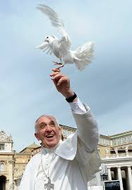 Pope Francis:Dove