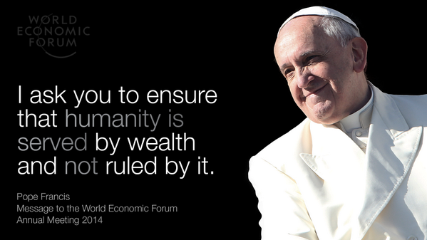 Pope Francis:Quote